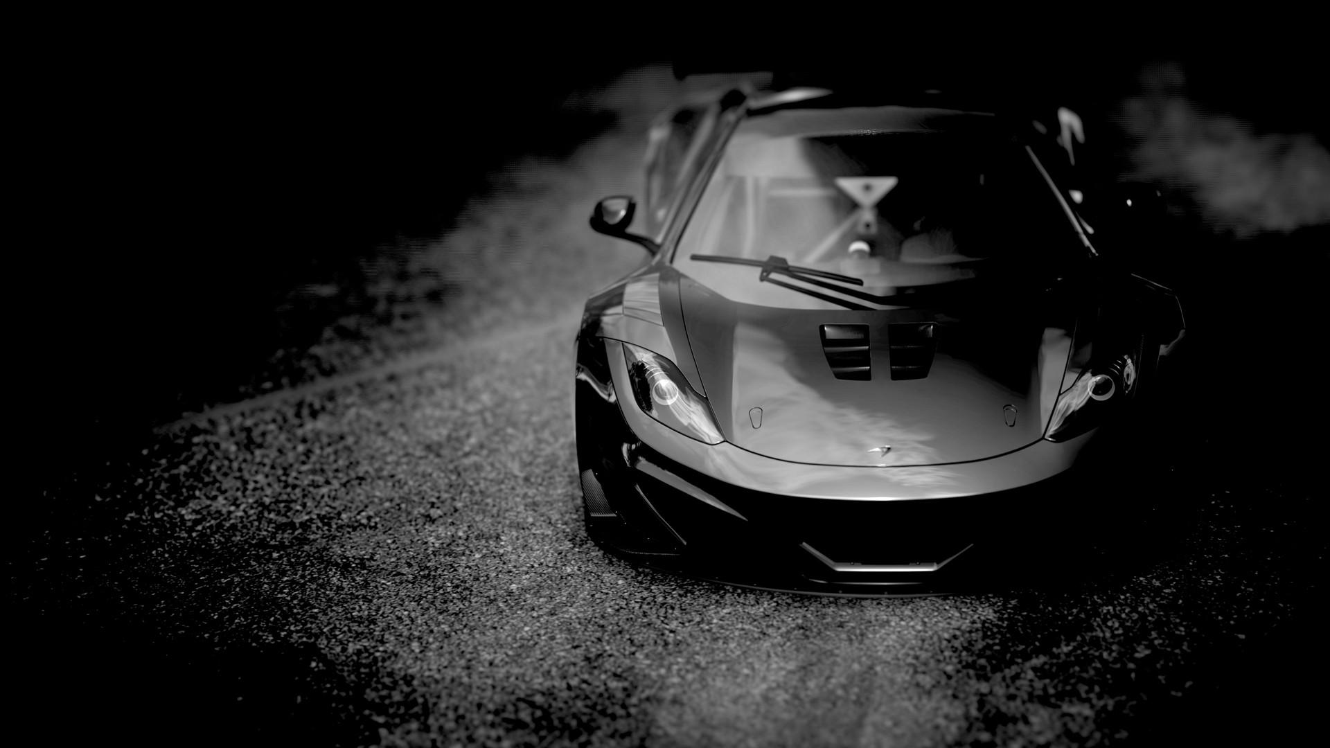 спортивный автомобиль черный бесплатно