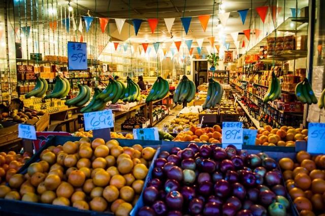 Продовольственный рынок в сан