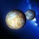 Снимки Плутона и Харона от космического аппарата «Новые горизонты»