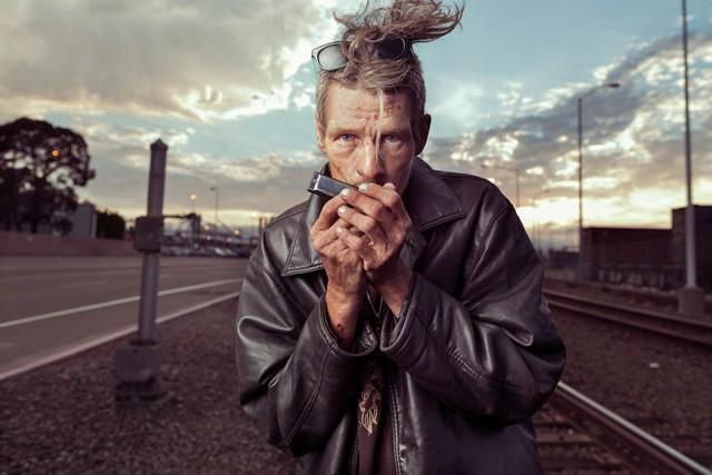 Фотограф показал бездомных людей в совершенно новом свете, чтобы напомнить нам, что они тоже люди