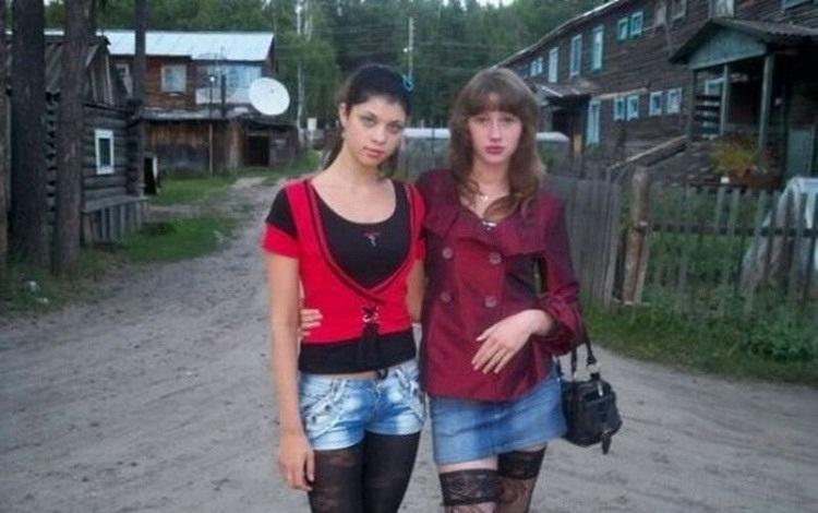 Фото колхозных девчонок