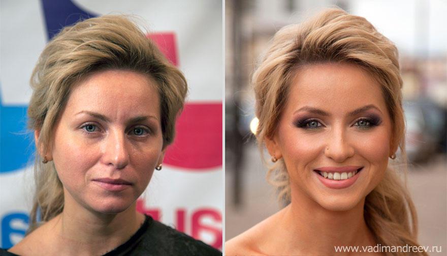 Женщина может быть красивой без макияжа