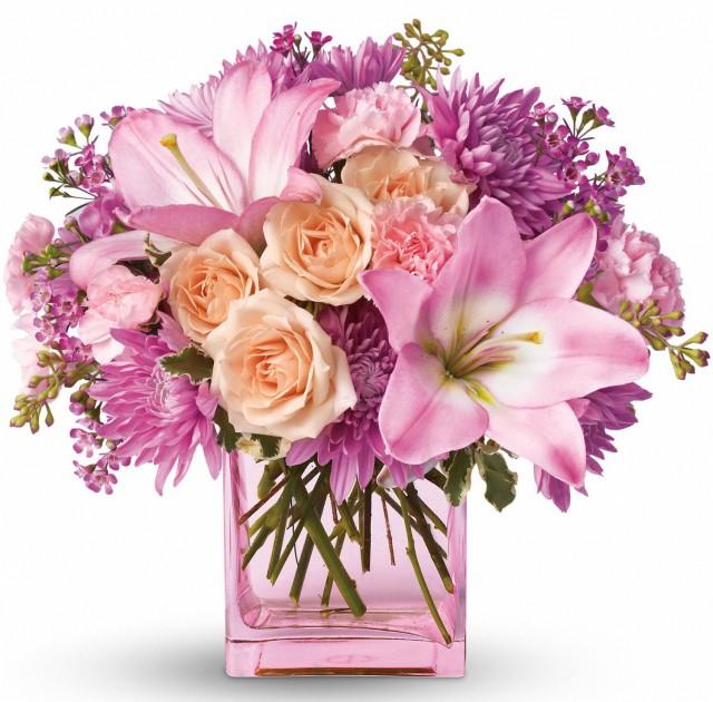 Рисованные картинки букеты цветов 8