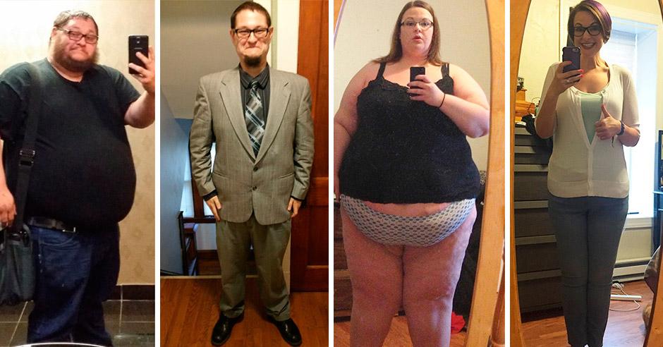Фото др и после похудения