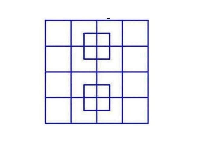 тест сколько квадратов на картинке