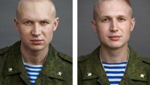 Фотопроект: до и после армии