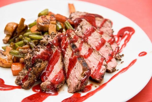 Мясо в красном соусе рецепт
