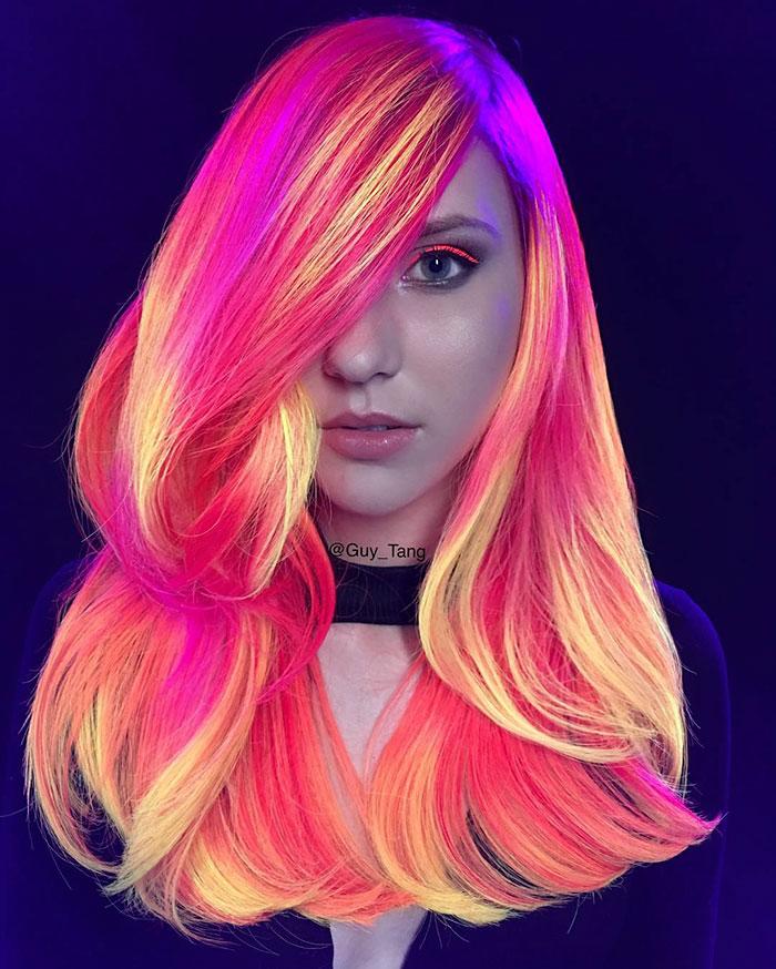 сходятся картинки с разными цветом волос изображения чаще