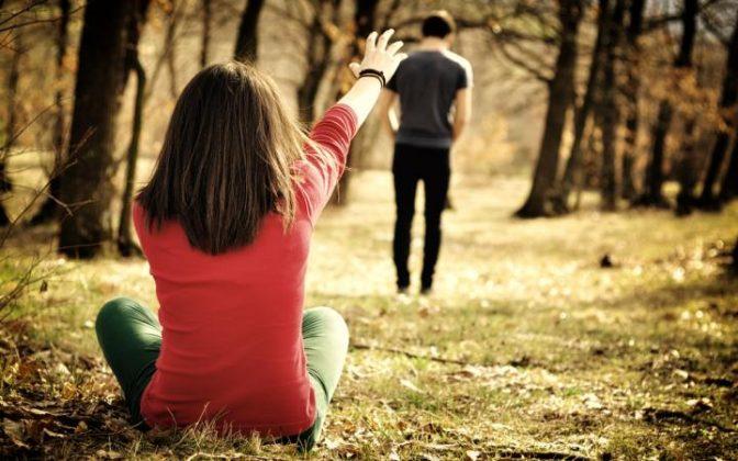 Легче всего пережить расставание