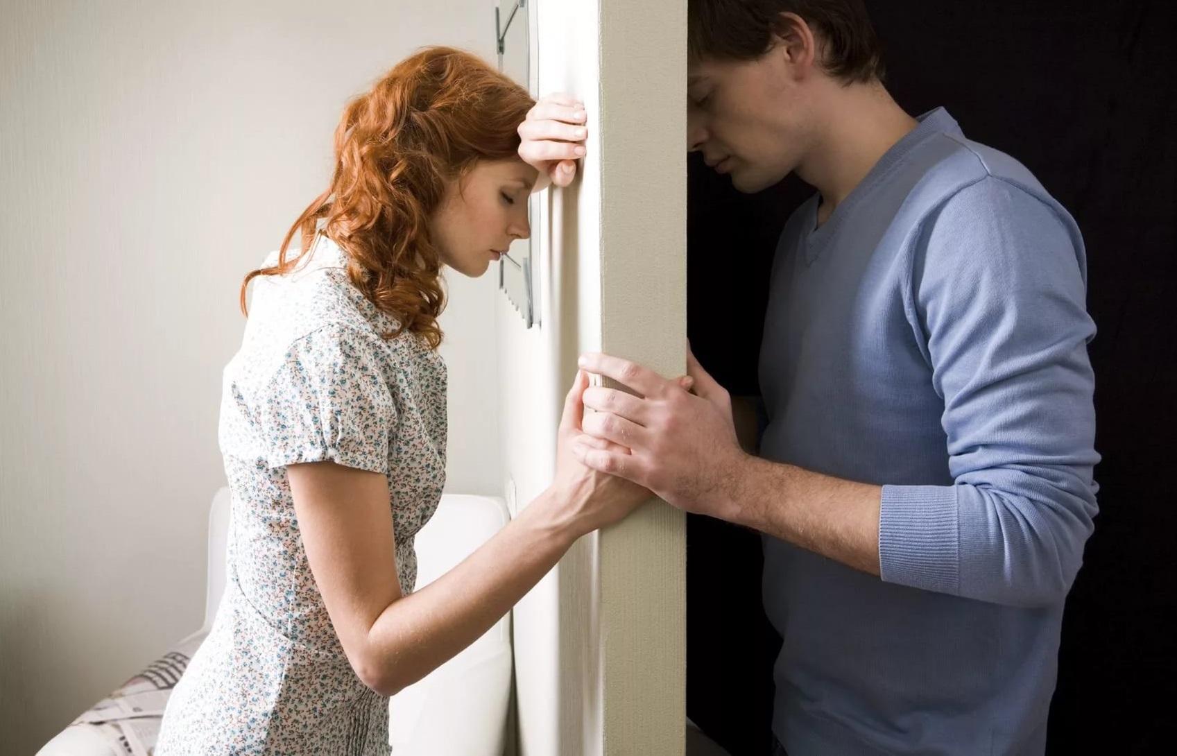 Картинки женщина прощает мужчину