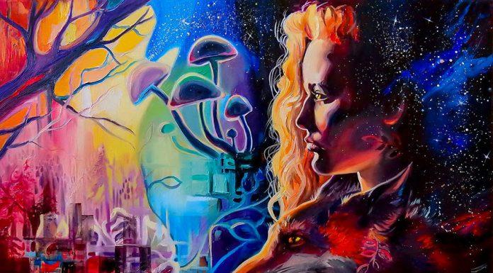 Мир, который не описать словами: художница рисует фантастические картины природы