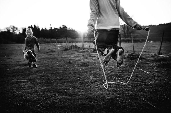Потрясающее и свободное детство без технологий