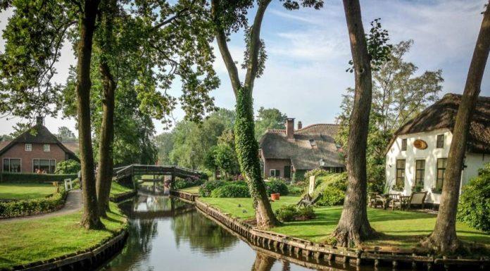 Сказочный голландский город без улиц