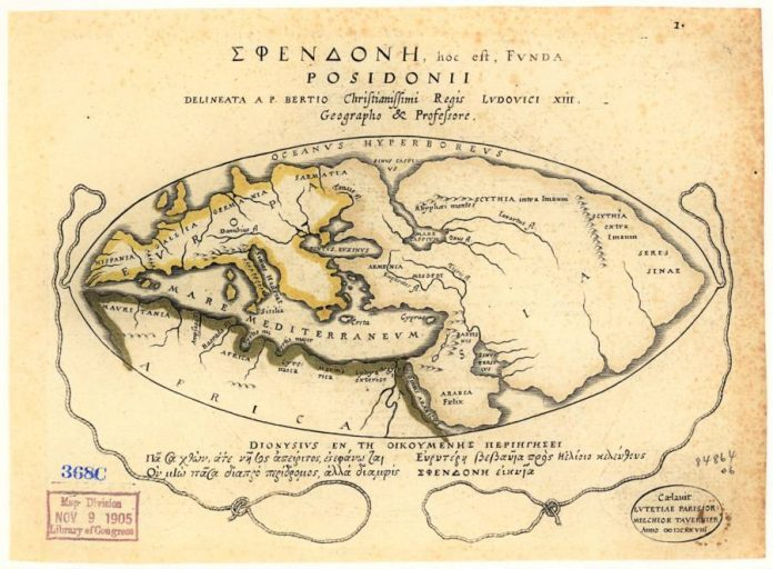 Доклад древние карты мира 2444