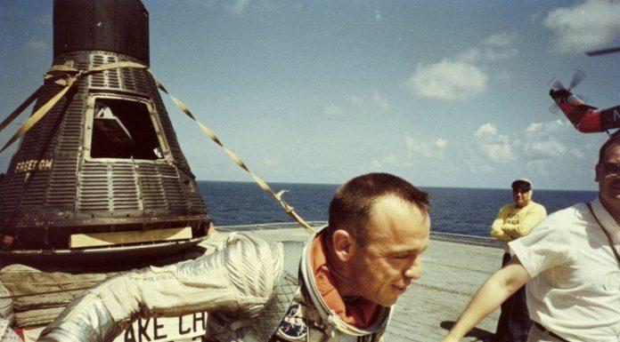 Фото приземлений астронавтов за последние полвека