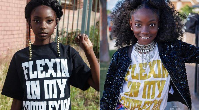 10-летняя девочка, которую обижали в школе, выпустила свою линию одежды, помогающую людям чувствовать себя увереннее