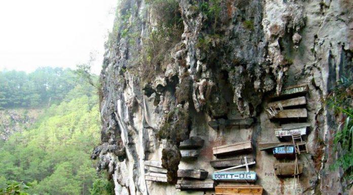 Висячие гробы в Китае и на Филиппинах