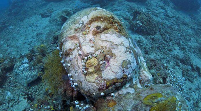 Подводный храм-сад на Бали. Это стоит увидеть!