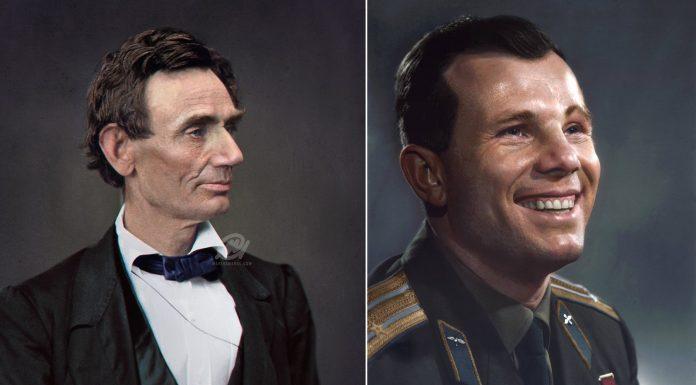 Фотографии известных исторических личностей в цвете