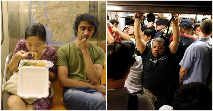 Для людей, которые делают эти вещи в метро, в аду найдется отдельный котел!