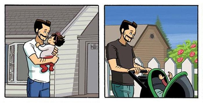 Этот комикс о взрослении изменит ваш взгляд на жизнь