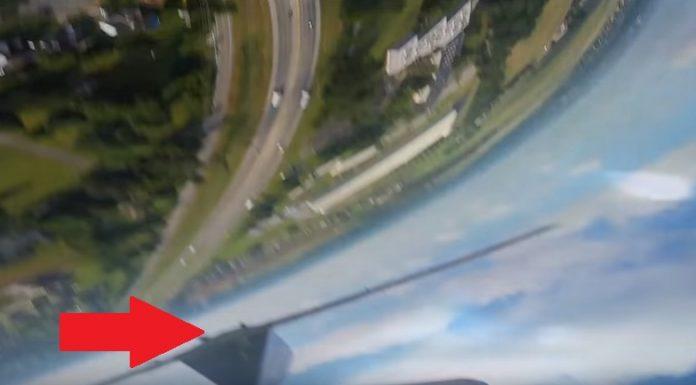 Телефон упал с высоты в 300 метров… но продолжал снимать
