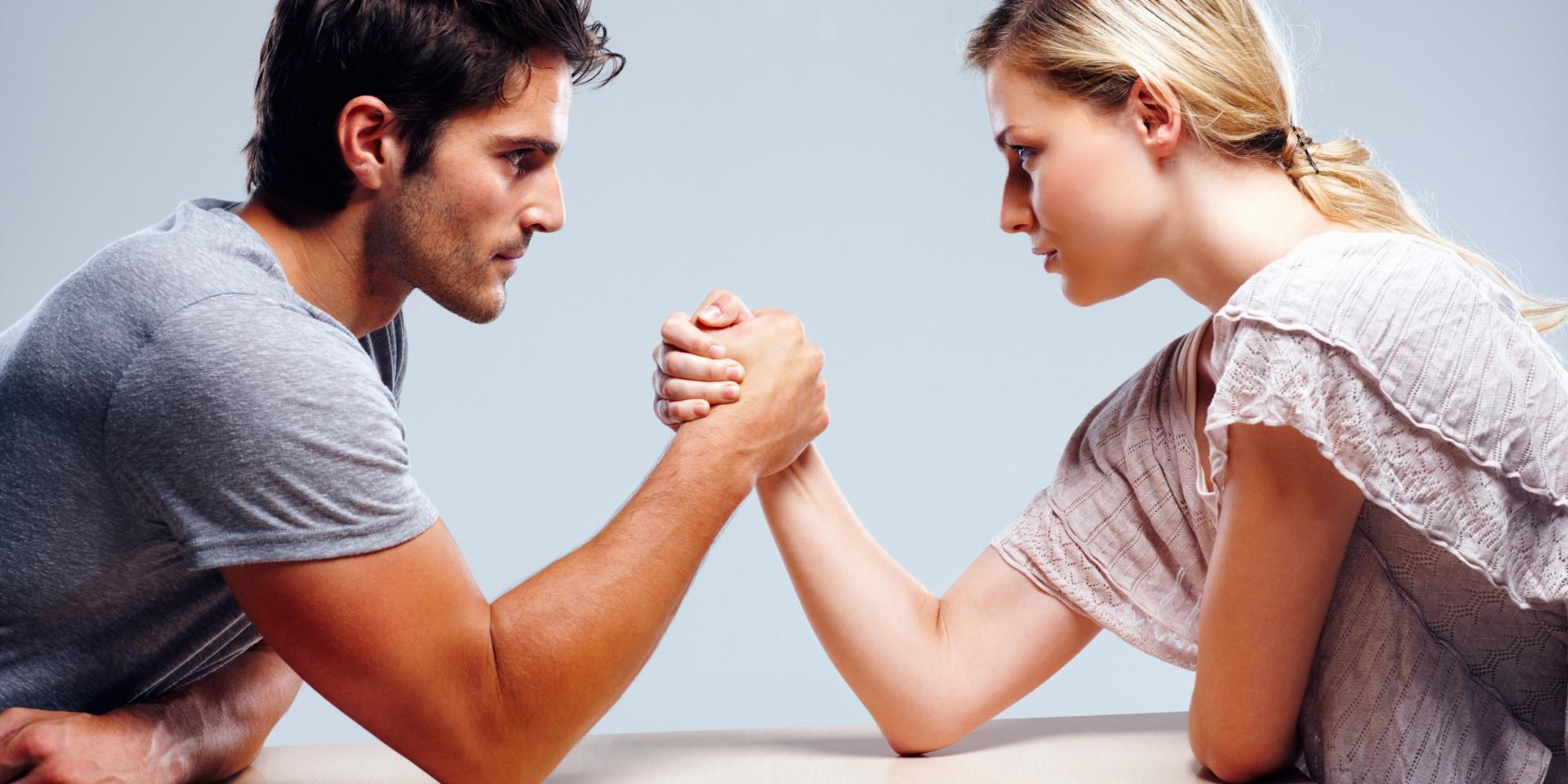 tough guy vs gentle woman perception