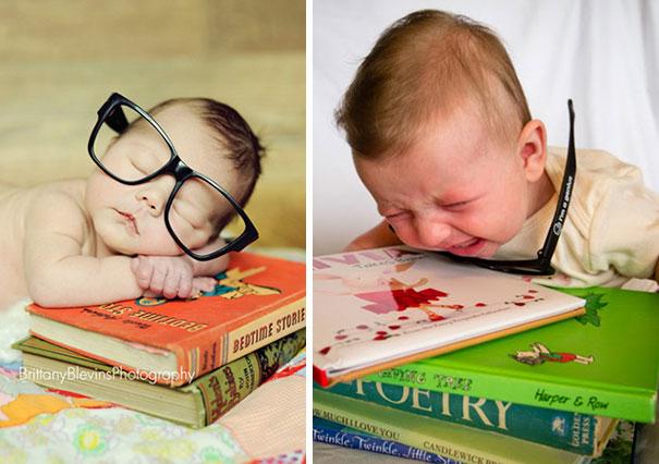 Ожидание и реальность: попытки родителей сделать потрясающие фото своих малышей