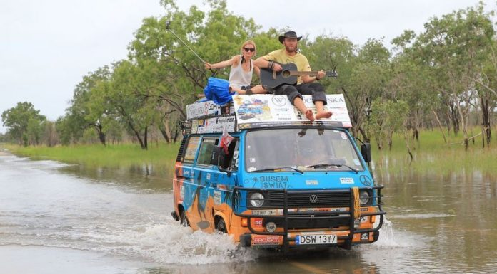 Эта пара посетила 50 стран, тратя всего 8 долларов в день!