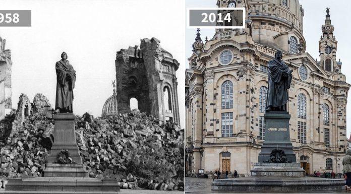 До и после: как меняются места со временем