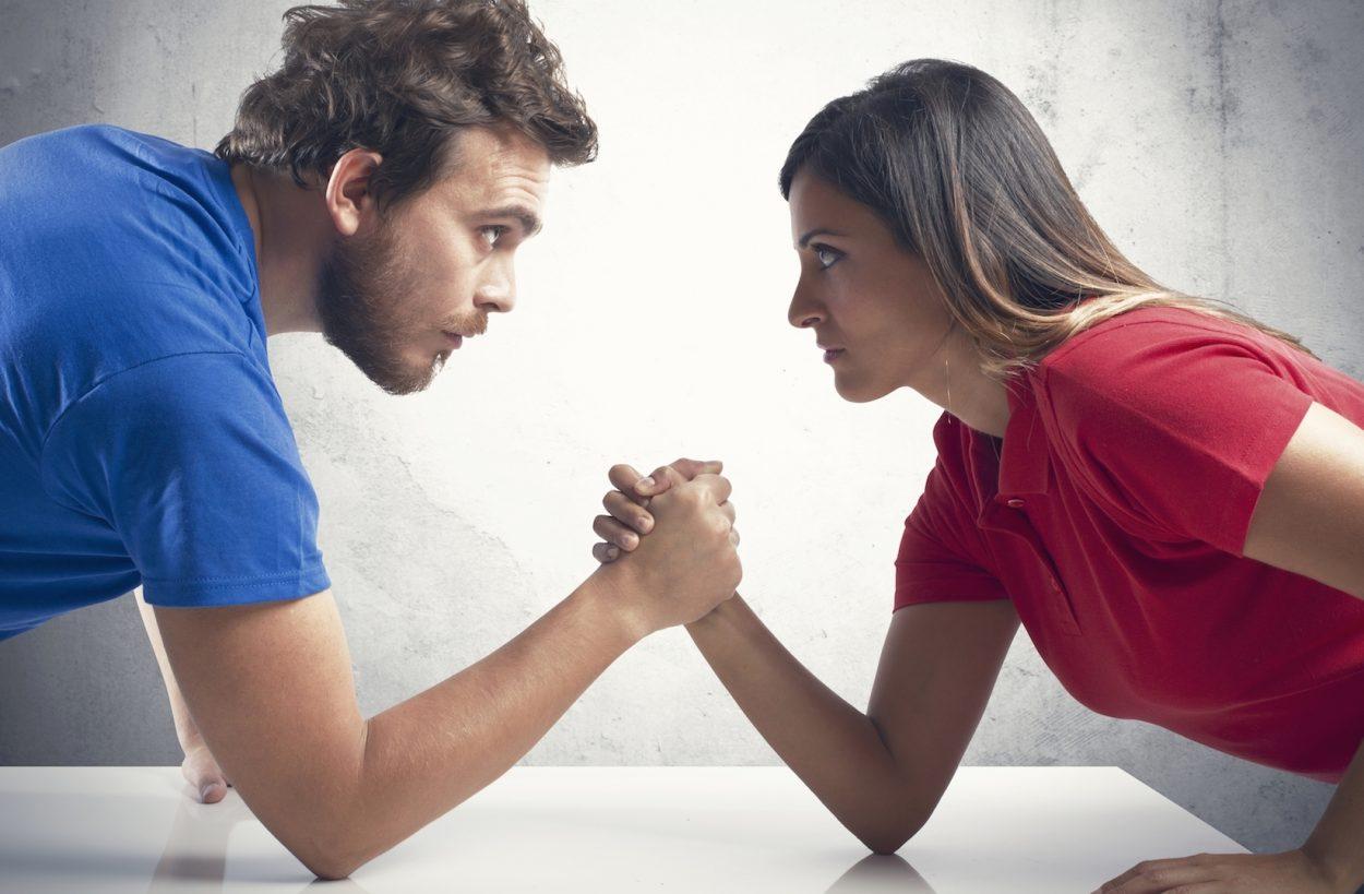 Отношерия мужчин и женщин
