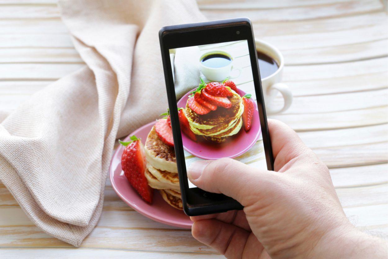 изготовители могут фотография еды на айфон нарисовать