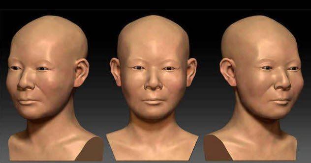 Как выглядели женщины в древности: 10 реконструкций лиц