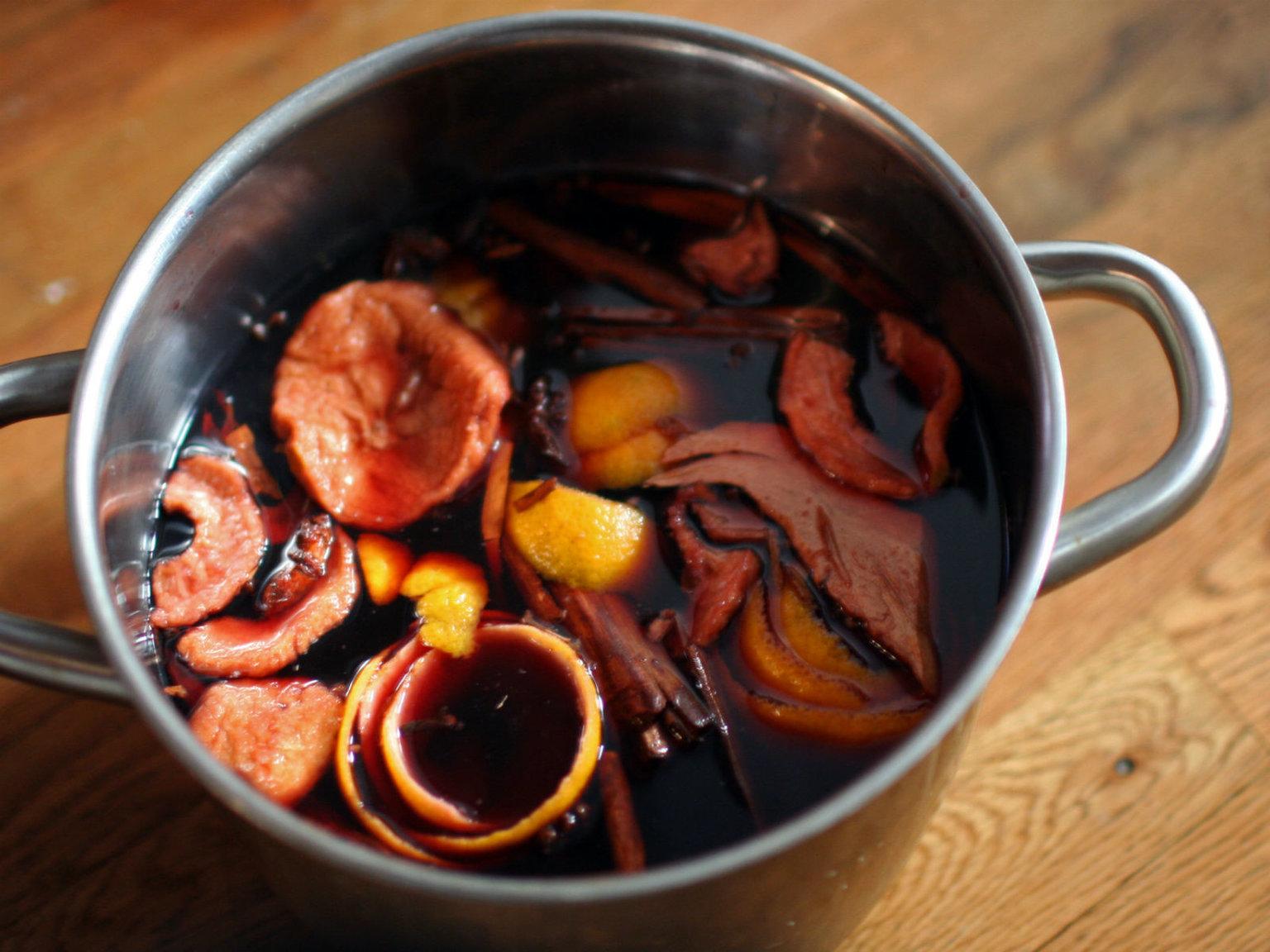 Глинтвейн рецепт приготовления пошагово