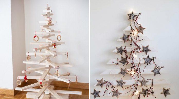 Очень креативные альтернативы новогодней ёлке