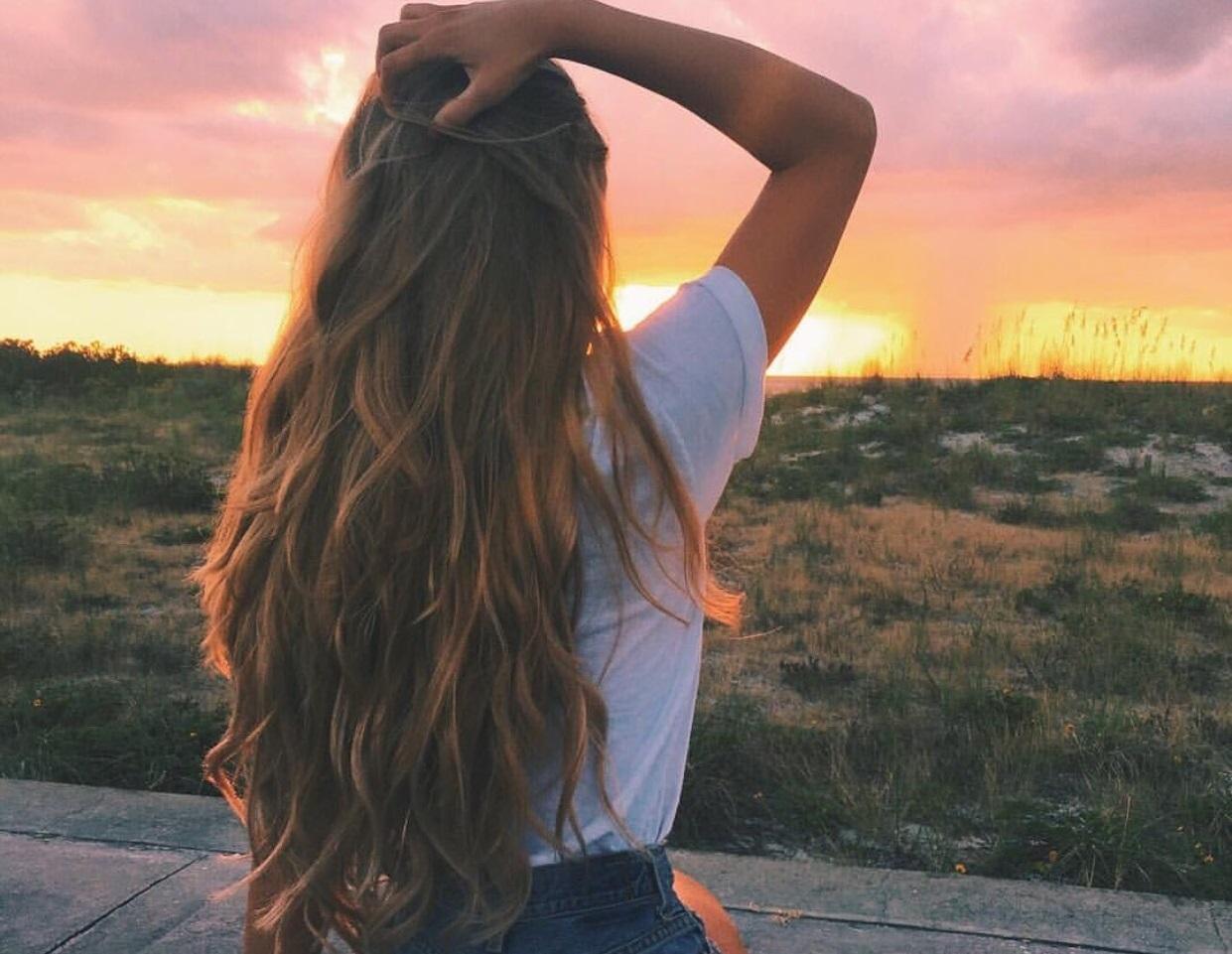 Картинки крутой девушки с спины