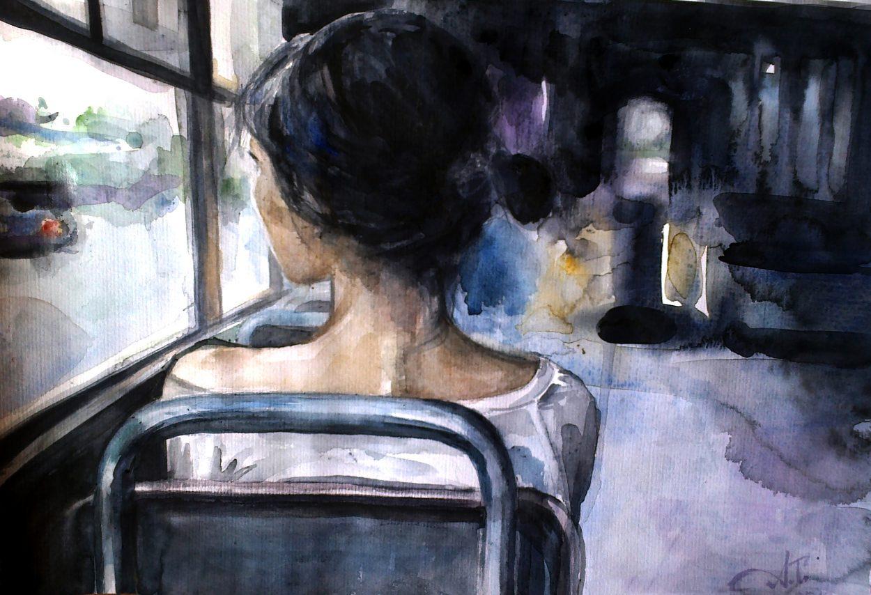 Картинки на тему одинокая женщина
