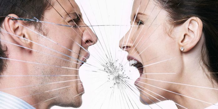 ссора в отношениях