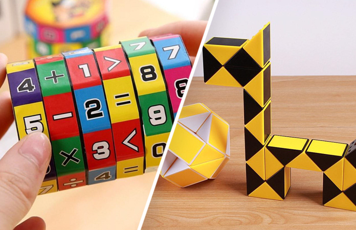 Игрушки-головоломки