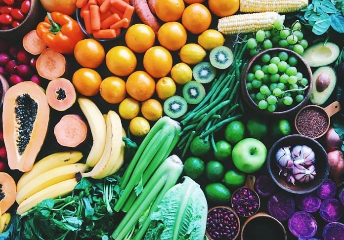 названия фруктов и овощей