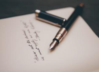 характер по почерку