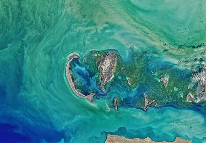 Сможете ли вы распознать страны по фотографиям с Google Earth?